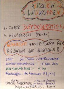 Abschlussveranstaltung Dorfmoderation Heupelzen @ Heupelzen